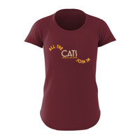 2016 Women's Shirt burgundy